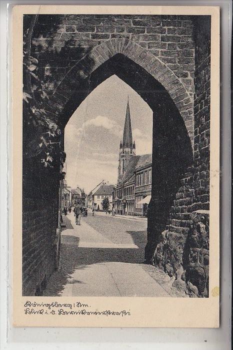 NEUMARK, KÖNIGSBERG / CHOJNA, Strassenansicht, 1940