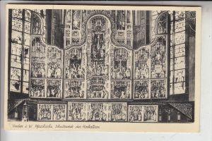 4426 VREDEN, Pfarrkirche, Schnitzwerk des Hochaltars, 1944