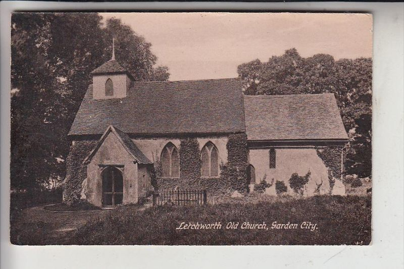 UK - ENGLAND - HERFORDSHIRE - LETCHWORTH, Old Church, Garden City 0