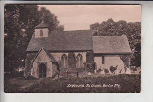 UK - ENGLAND - HERFORDSHIRE - LETCHWORTH, Old Church, Garden City