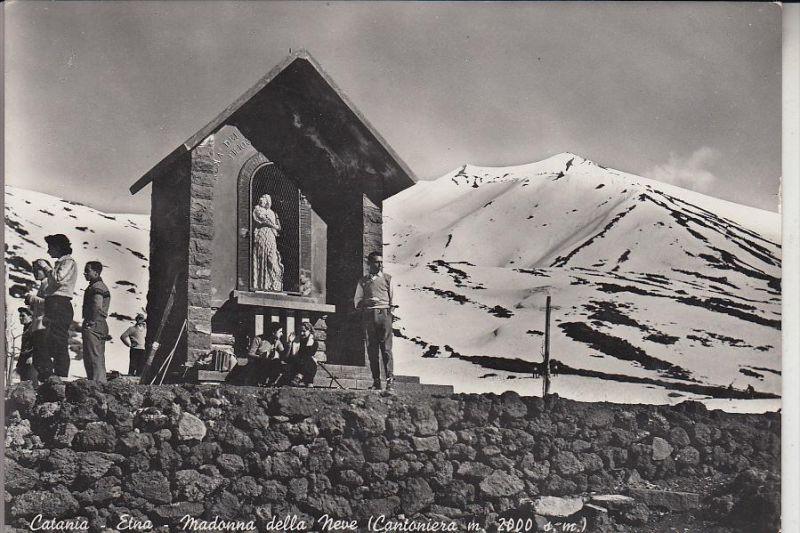 I 95100 CATANIA, Etna, Madonna della Neve, 1955