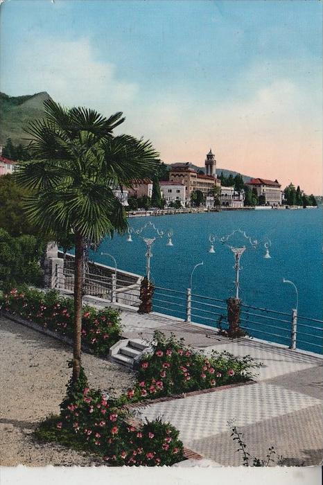 I 25083 GARDONE RIVIERA, Lago di Garda, 1956