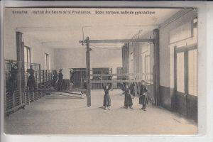 SPORT - GYMNASTIK / TURNEN, Salle de gymnastique, Gosselies, institut desSoeurs de la Providence