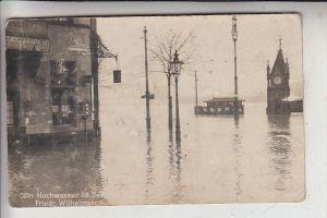 5000 KÖLN - MÜLHEIM, EREIGNIS, Hochwasser 1919, 28.Dez. 1919, Friedrich Wilhelmstrasse