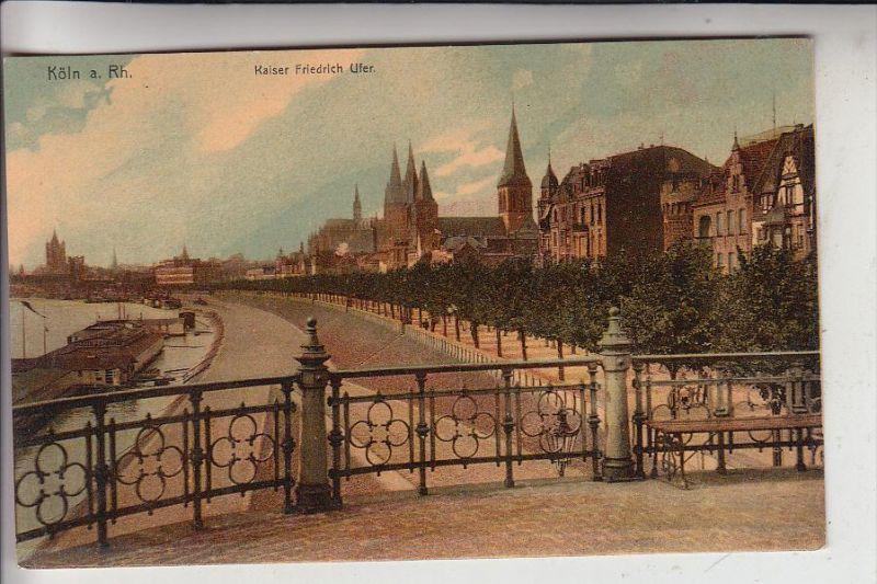 5000 KÖLN, Kaiser Friedrich Ufer, 1911