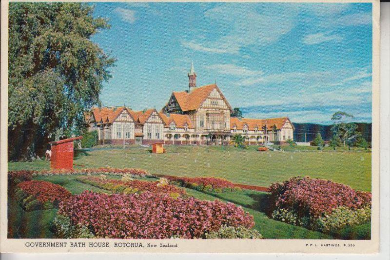 NZ - NEW ZEALAND / Neu Seeland - Government Bath House, Rotorua, 1963