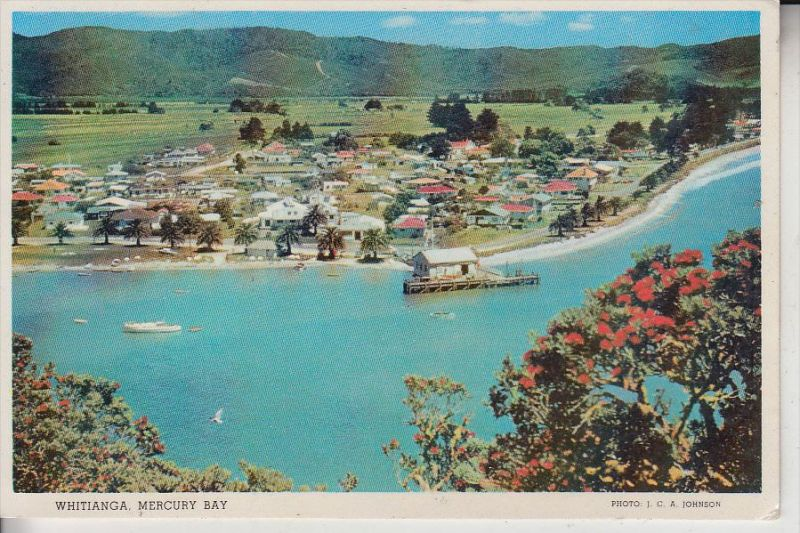 NZ - NEW ZEALAND / Neu Seeland - Whitianga, Mercury Bay, 1966