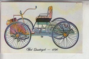 AUTO - FORD Quadricycle 1896