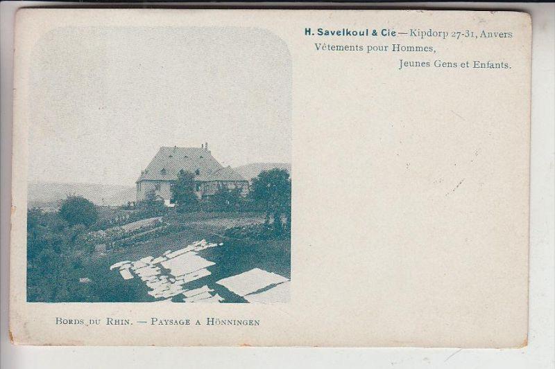 5462 BAD HÖNNINGEN, Bauern - Hof bei Hönningen, 191...