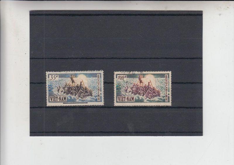 VIETNAM - SÜD, 1955, Michel 106 & 107 gest.