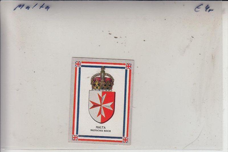 MALTA, Staatswappen, York Zigarettenbild