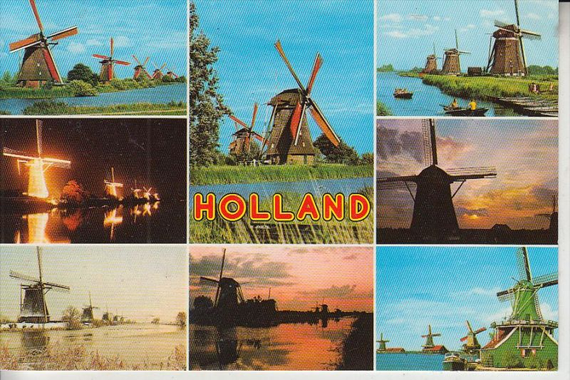 MÜHLE - WINDMÜHLE / Molen / Mill / Moulin - Hallandse Molen