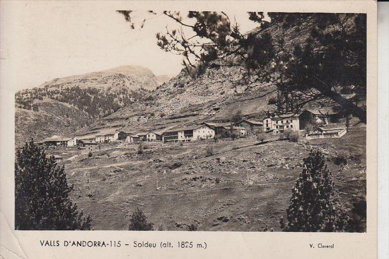 ANDORRA, SOLDEU, Eckknick