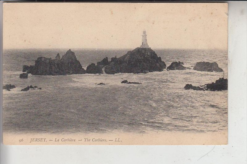 UK - CHANEL ISLANDS - JERSEY -  The Corbiere, Louis Levy # 96