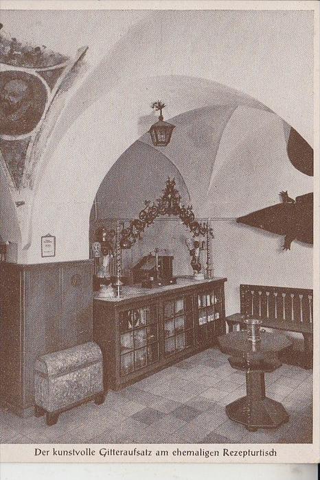 GESUNDHEIT - APOTHEKE - Mohren-Apotheke Bayreuth, ehem. Rezepturtisch