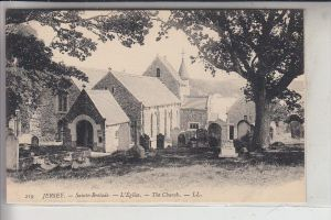 UK - CHANEL ISLANDS - JERSEY -  SAINTE BRELADE,Church, LOUIS LEVY # 219