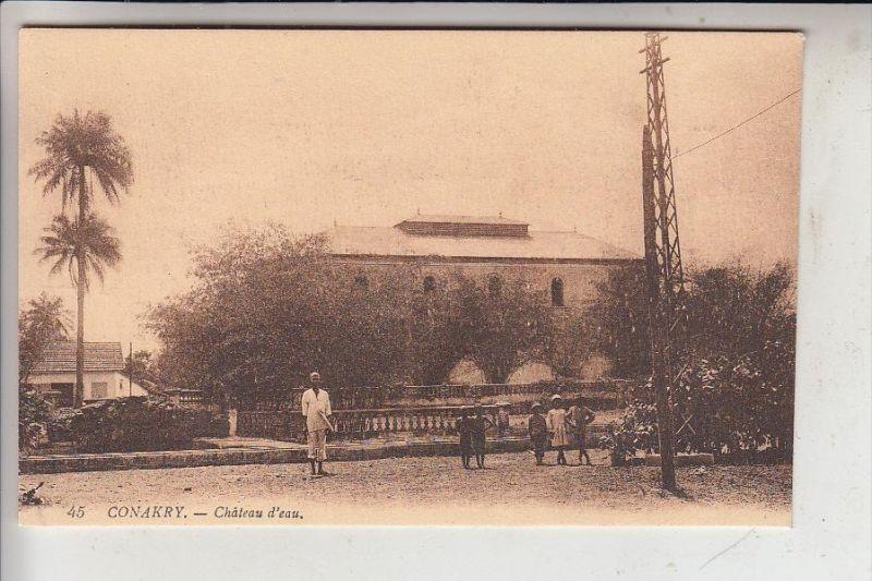 CONAKRY - GUINEA, Chateau d'eau - Wasserturm, water tower, Levy-Paris # 45