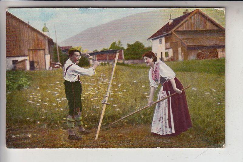 LANDWIRTSCHAFT - Heuernte - color