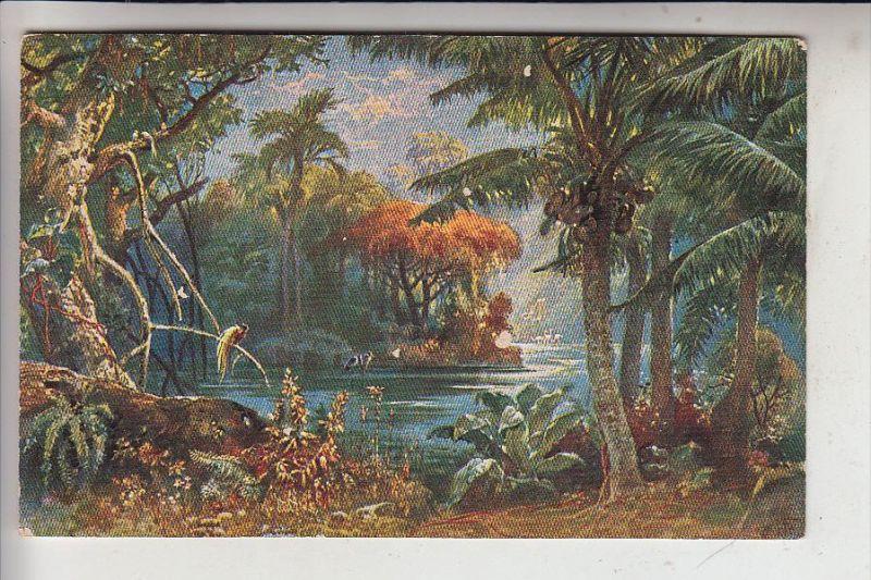 KAMERUN / CAMEROON - Landschaft, Deutscher Kolonialkriegerdank