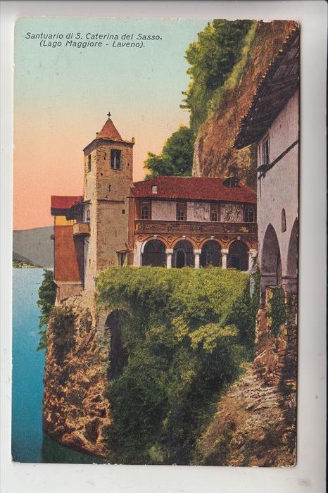 I 21014 LAVERNO, Santuario di s. Caterina del Sasso