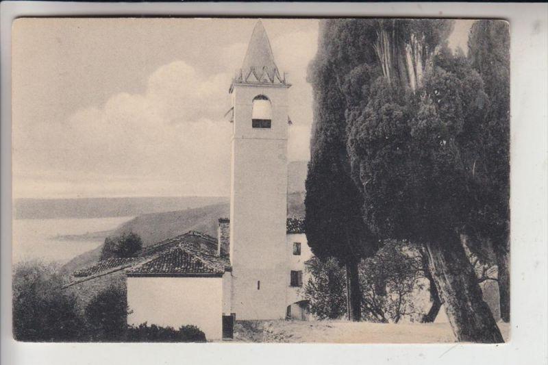 I 25088 TOSCOLANO - MADERNO - GAINO, Kirche in Gaino, Lago di Garda, Kirche, frühe Karte-ungeteilte Rückseite