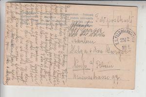 LUXEMBURG - Deutsche Besetzung 1.Weltkrieg, K.D.Feldpoststation No.1, Landwehr Bat. Cöln