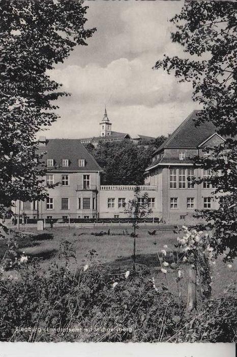 5200 SIEGBURG, Landratsamt mit Michaelsberg 1963