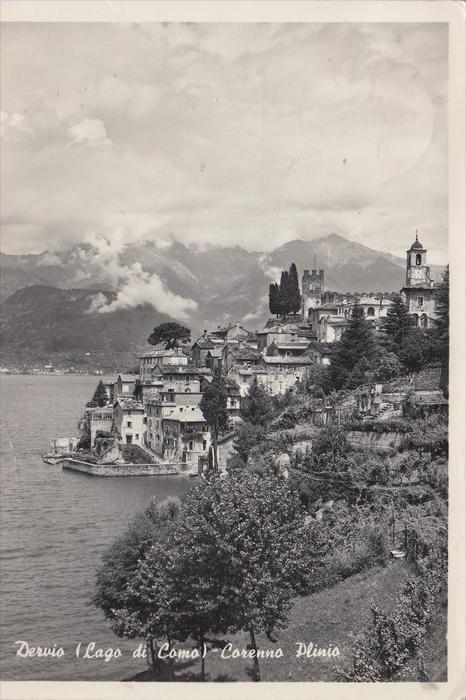 I 23824 DERVIO/LECCO, Corenno Plinio, 1957