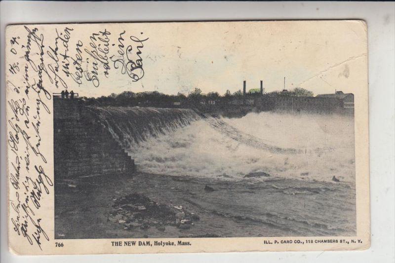 USA - MASSACHUSETTS - HOLYOKE, The New Dam, 1904