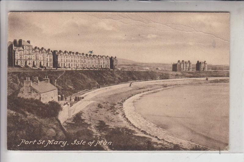 UK - ENGLAND - ISLE OF MAN, Port St.Mary, 1922, AF