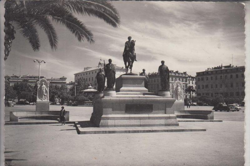 F 20000 AJACCIO, Le Monument a Napoleon, 1961