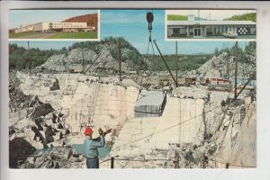 USA - VERMONT - BARRE, Rock of Ages Granite Quarry / Granitsteinbruch