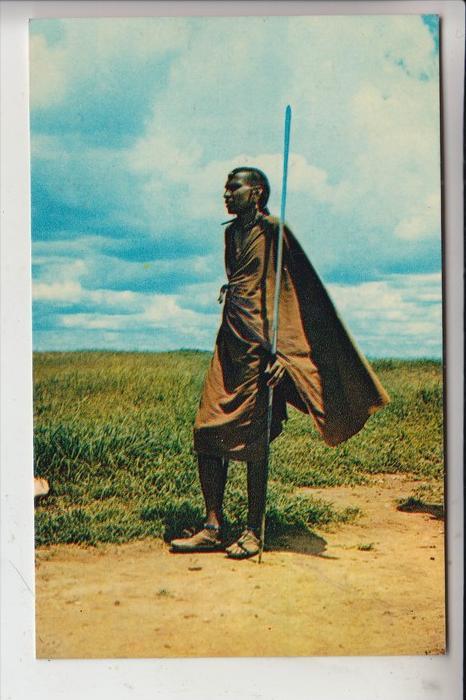TANZANIA / TANGANYIKA, Masai Moban, 1973
