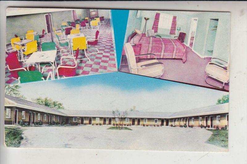 USA - PENNSYLVANIA - HARRISBURG, The Capitol Motel, 1954