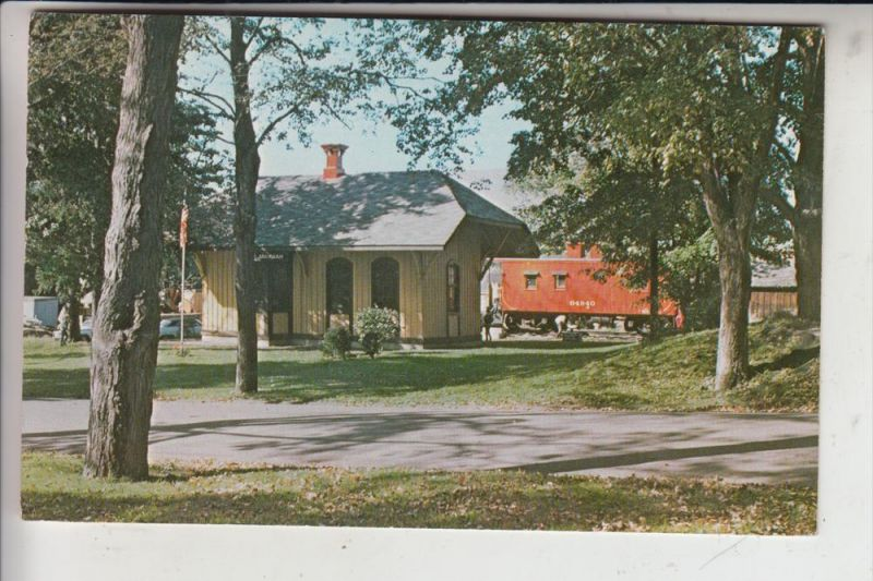 USA - NEW JERSEY - MAHWAH, Railway Station, built 1871, now town museum