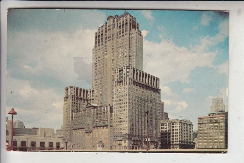 USA - ILLINOIS - CHICAGO, Civic Opera Building, 1955