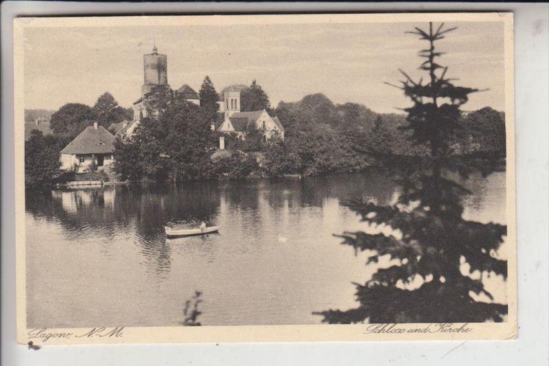 NEUMARK - LAGOW, Schloss und Kirche