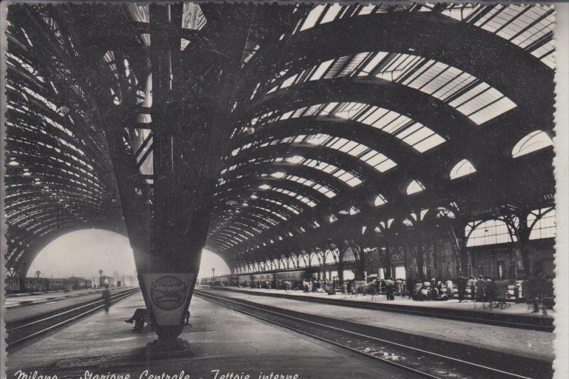 I 20100 MILANO / MAILAND, Stazione Centrale, Bahnhof / Station