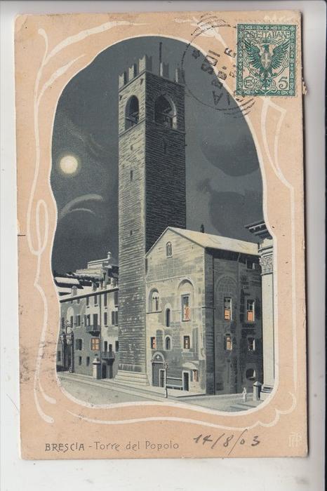 I 25100 BRESCIA, Torre del Popolo, 1903