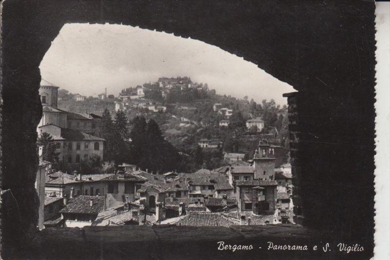 I 24110 BERGAMO, Panorama a S. Viglio, 1951