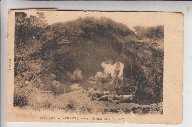 REUNION, Cilaos, Caverne Dufour, 1908, Knick - AF