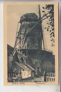 4047 DORMAGEN - ZONS, Mühlenturm, Windmühle- / mill / Molen