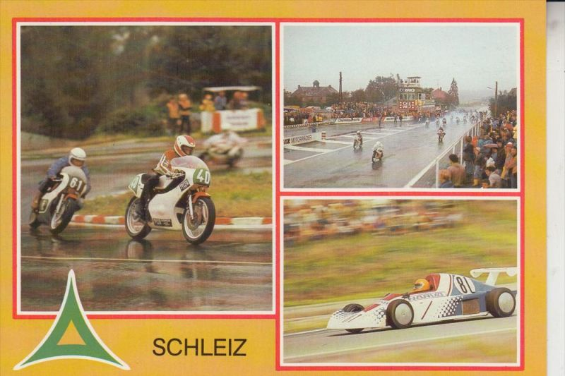 MOTORRAD - 50 Jahre Schleizer Dreieck Rennen - DDR / GDR 1983