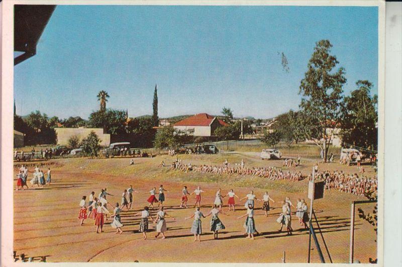 NAMIBIA / Südwestafrika, WINDHUK, Sportfest der Deutschen Schule 1964
