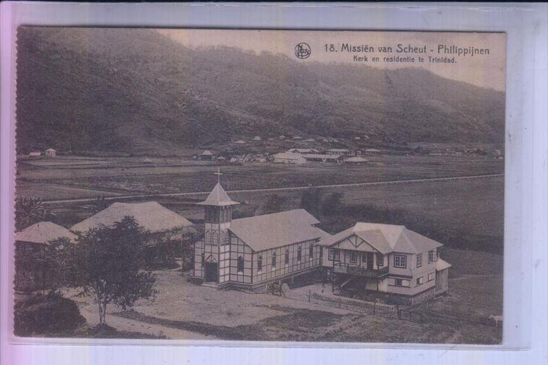 PHILIPPINEN - LA TRINIDAD, Church/kerk/Kirche - Mission van Scheut