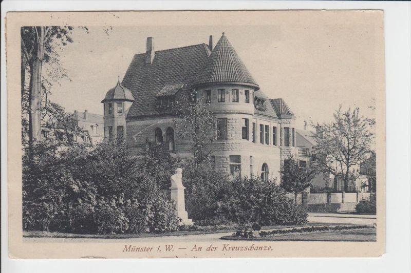 4400 MÜNSTER, An der Kreuzschanze, 1921