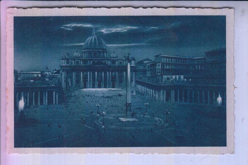 VATICAN, Piazza S. Pietro, Petersplatz, 1947