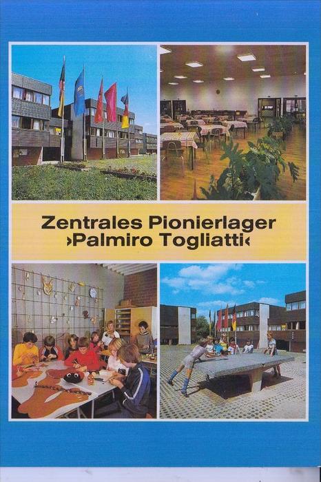 PFADFINDER - PIONIERE - DDR/GDR -Zentrales Pionierlager