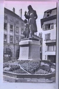 SCHULE - PESTALOZZI, Denkmal / Monument - Yverdon/CH