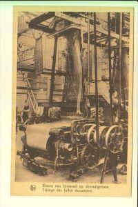 BERUFE - Technik - Damastweberei, Weven van lijnwaad, Tissage des tolles damassees, Damask weaving